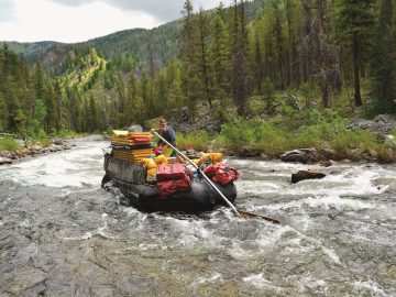 A Day in the Life of a Sweep Boat Captain on Idaho's Middle Fork Salmon River | Photo: Ashley Peel