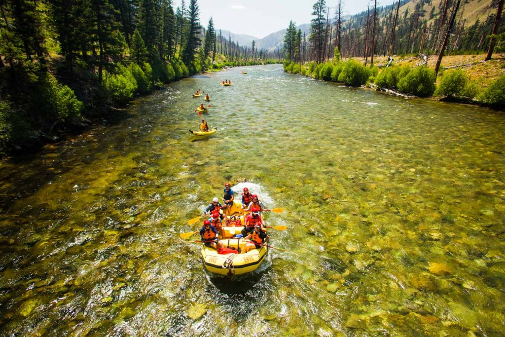 A Day in the Life of a Sweep Boat Captain on Idaho's Middle Fork Salmon River | Photo: Justin Bailie
