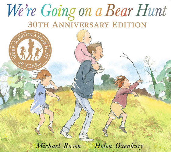 Best Outdoor Books for Kids | We're Going on a Bear Hunt