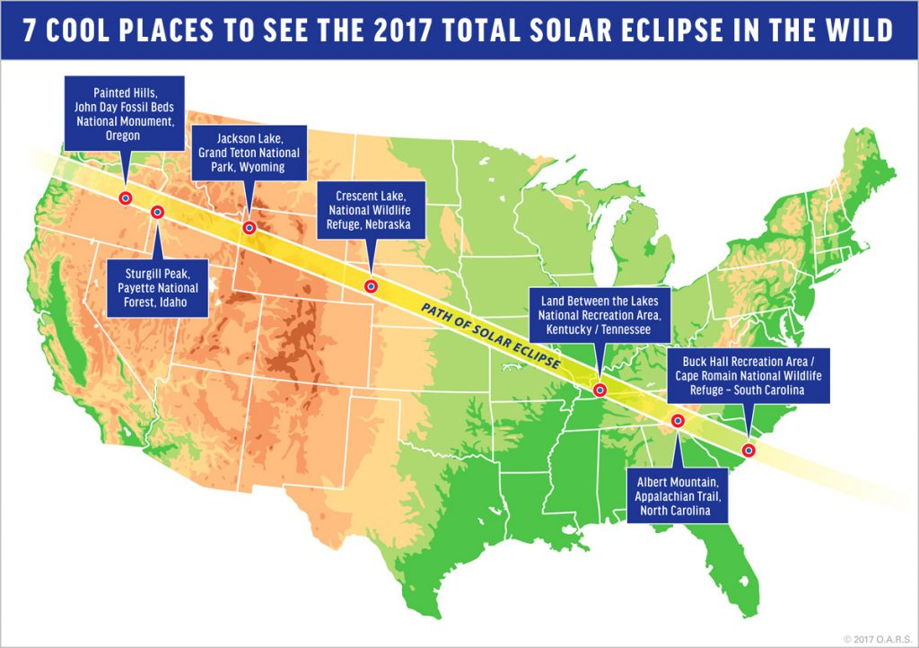 Where Will You Be for the 2017 Total Solar Eclipse