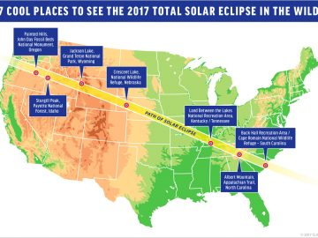 7 Cool Places to See This Year's Total Solar Eclipse in the Wild