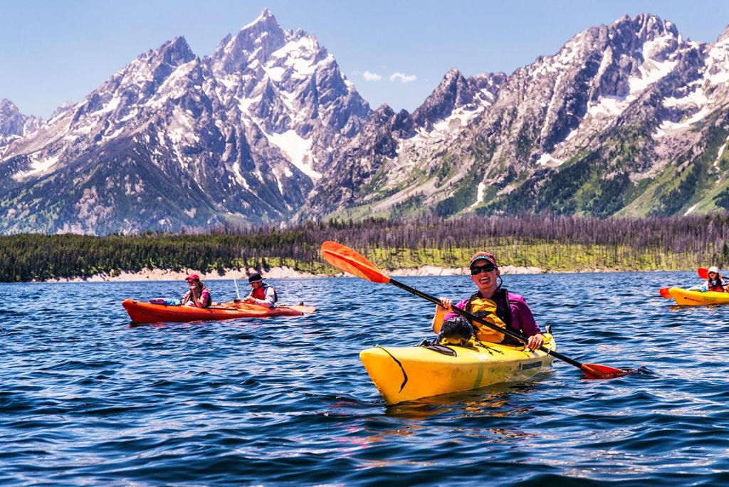 7 Cool Places to See the 2017 Total Solar Eclipse in the Wild | Jackson Lake, Grand Teton National Park