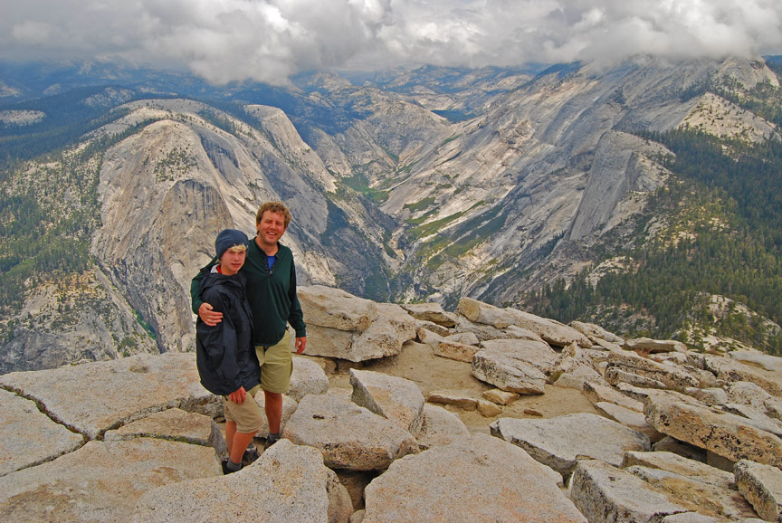 25 Unplugged Family Vacation Ideas | Yosemite Backpacking