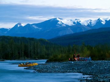 5 Alaska Adventures You Can't Experience from a Cruise Ship | Tatshenshini River Rafting