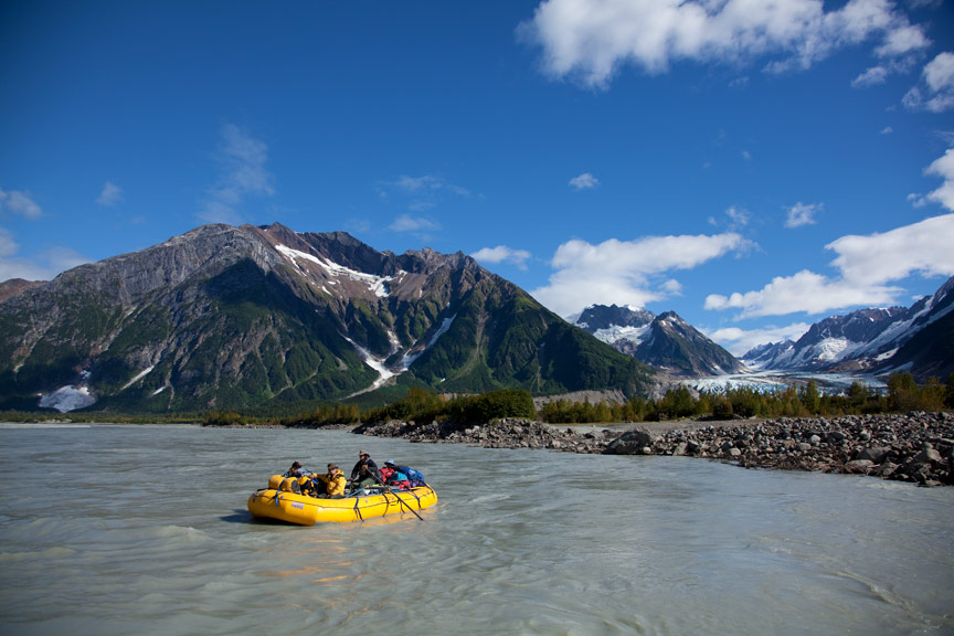 5 Alaska Adventures You Can't Experience from a Cruise Ship   Tatshenshini River Rafting