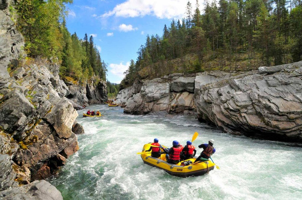 Where to find the best rafting in Europe: Sjoa River - Norway | Photo: Sjoa Rafting AS