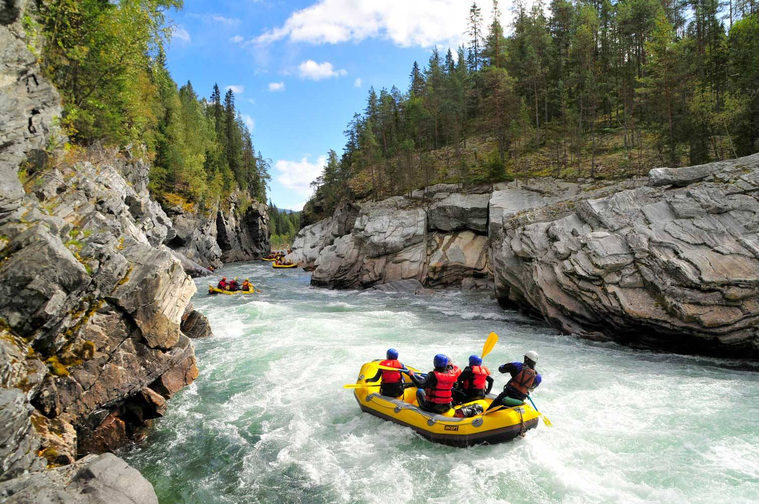Experience The Best Rafting Holidays In The World
