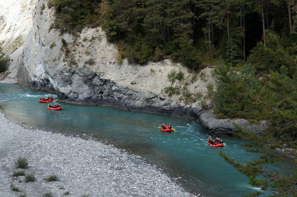 Where to find the best whitewater rafting in Europe | Rhine River - Switzerland