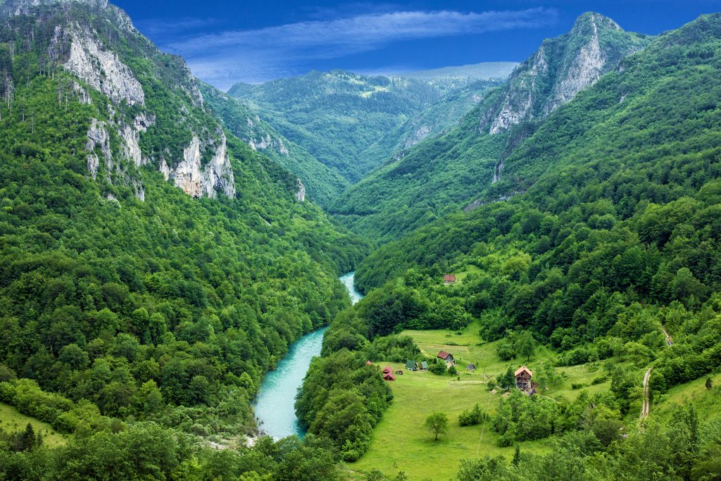 Where to find the best whitewater rafting in Europe | Tara River - Montenegro