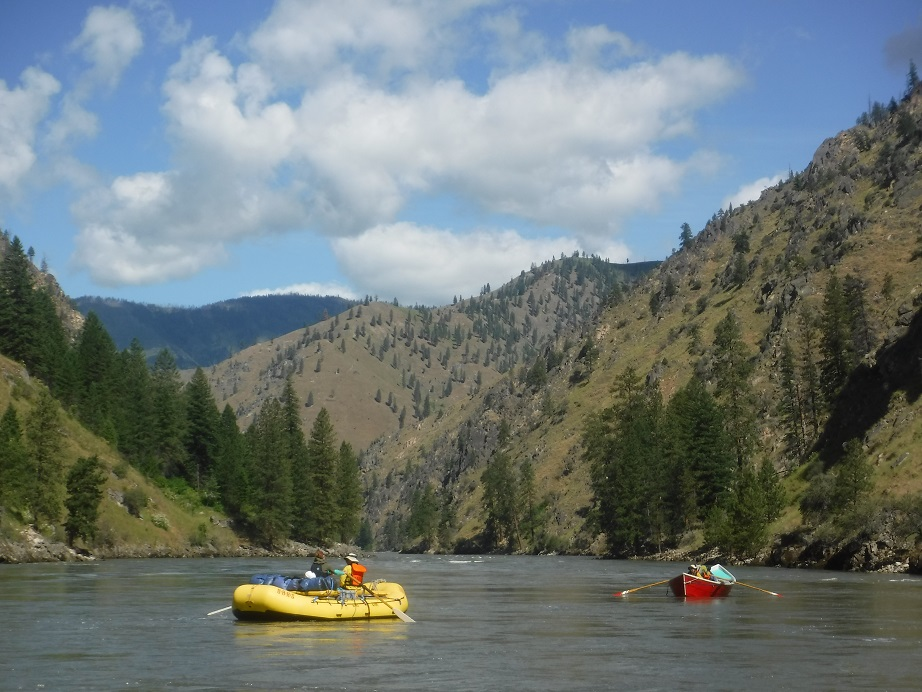 The River Swirls Madly On: Reconciling Fear and Whitewater