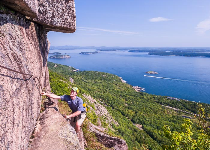 8 National Park Views That are Worth the Effort | Champlain Mountain, Acadia National Park