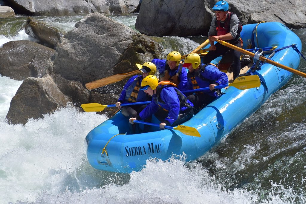 Cherry Creek Rafting near Yosemite