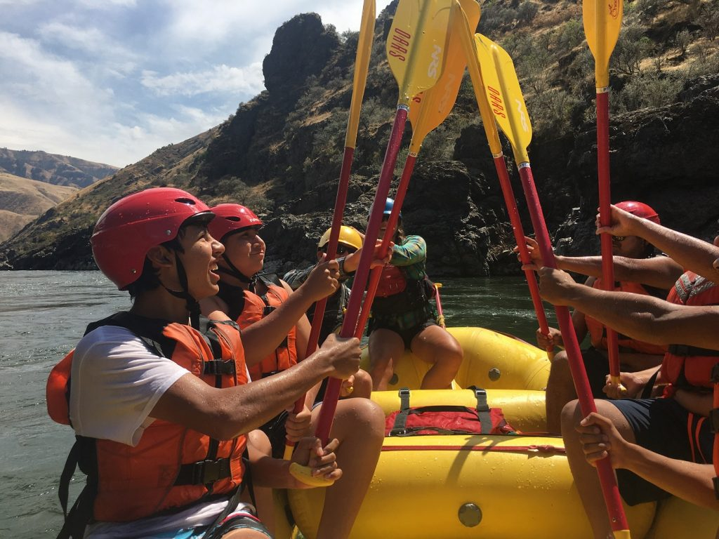 Nez Perce Teens Discover Their Backyard River
