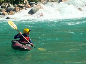 What Whitewater Kayaking with my Young Son Taught Me About Fear