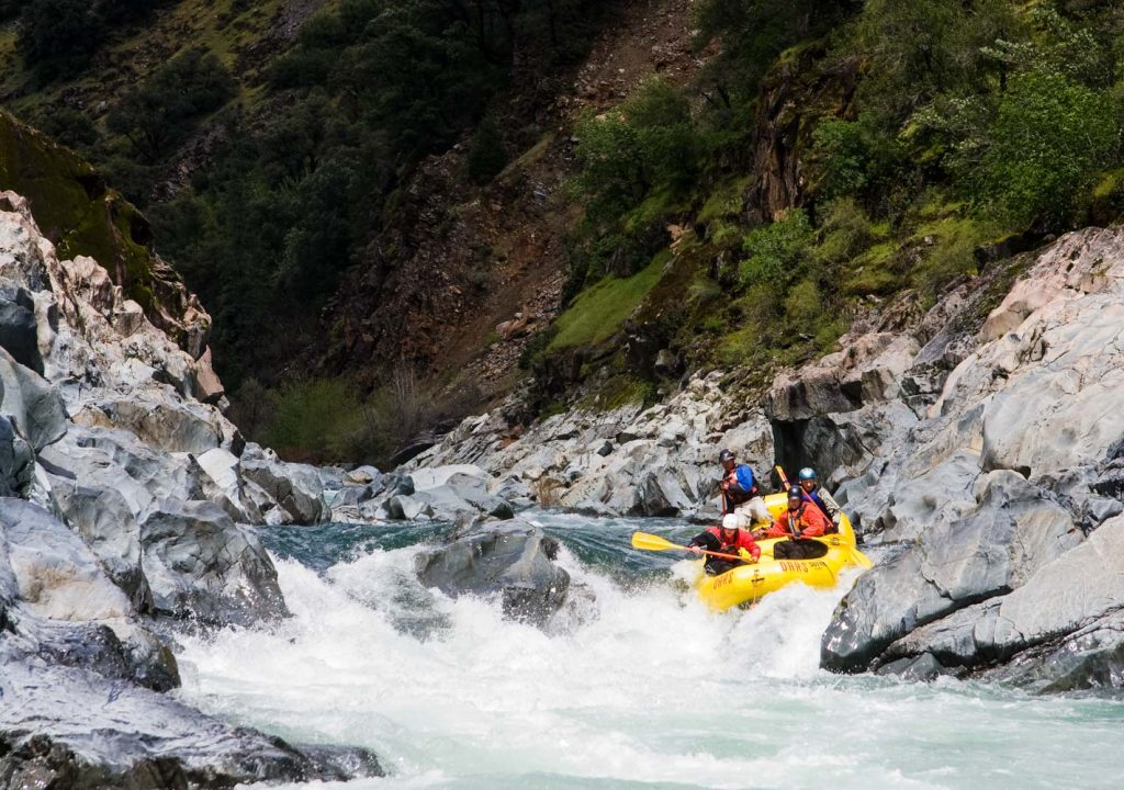 Whitewater Rafting Near San Francisco