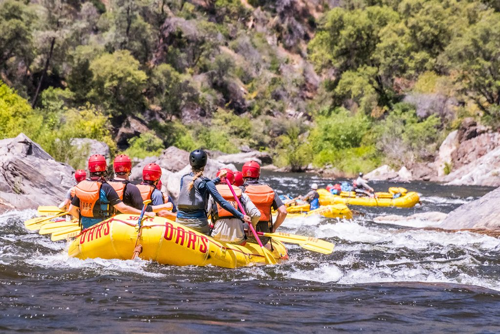 Whitewater Rafting Trips Near San Francisco