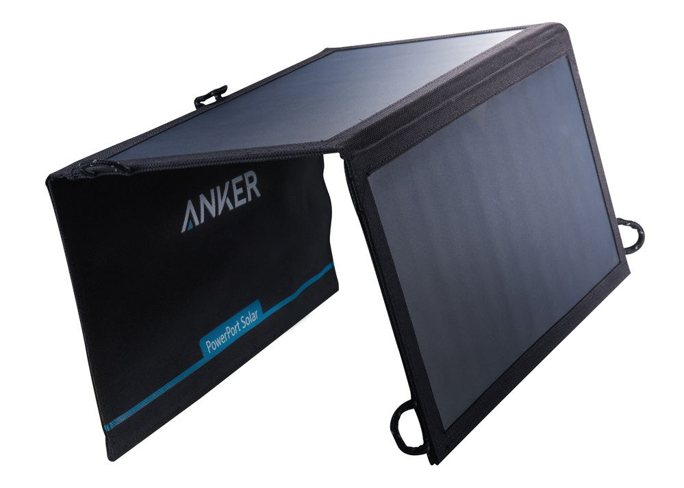 Best Solar Panels for Rafting Trips | Anker 15W PowerPort Solar Lite Charger