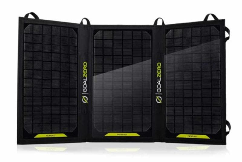Best Solar Panels for Rafting Trips | Goal Zero Nomad 20 Solar Panel