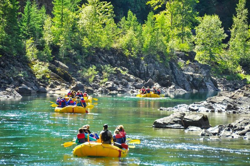 The Best Rafting Trip in (Almost) Every State | Middle Fork Flathead, Montana