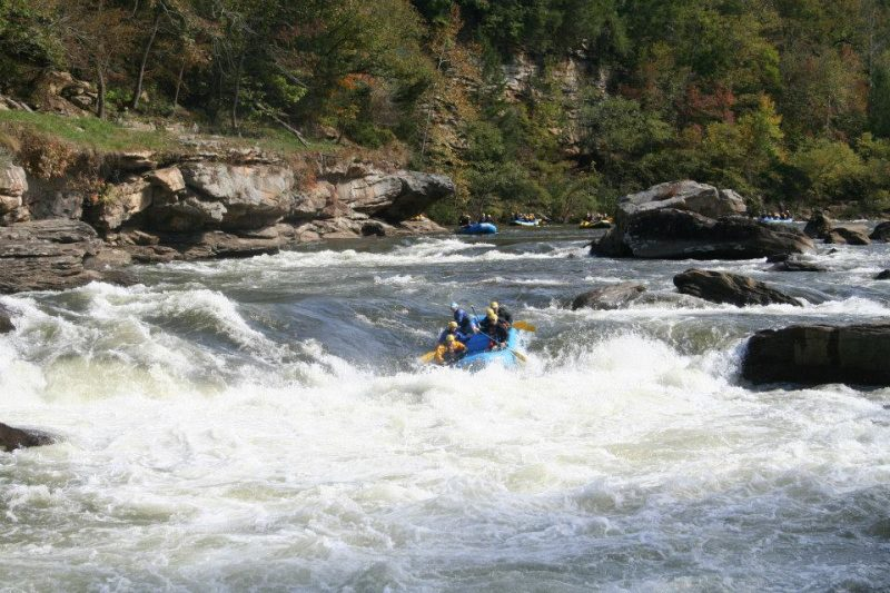 The Best Rafting Trip in (Almost) Every State | Gauley River, West Virginia