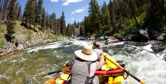 Middle Fork Salmon River rafting in Idaho