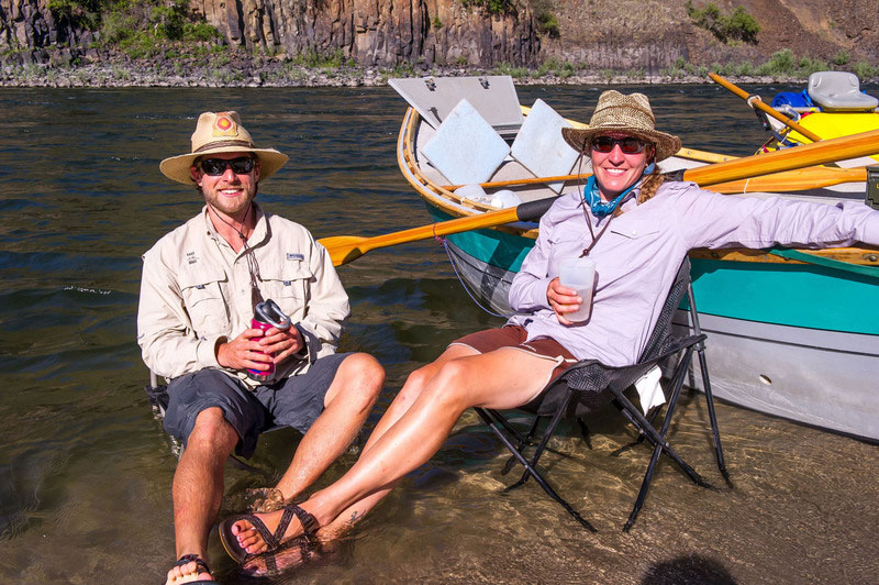 How to protect yourself from the sun on a rafting trip