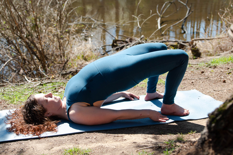 Post-paddling Yoga Poses: Bridge