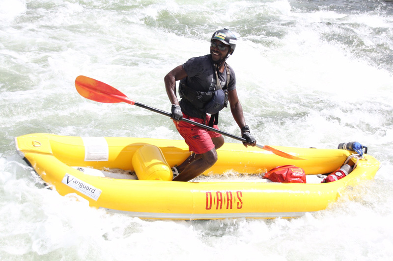 Meet OARS Oregon Guide Blessed Ndlovu