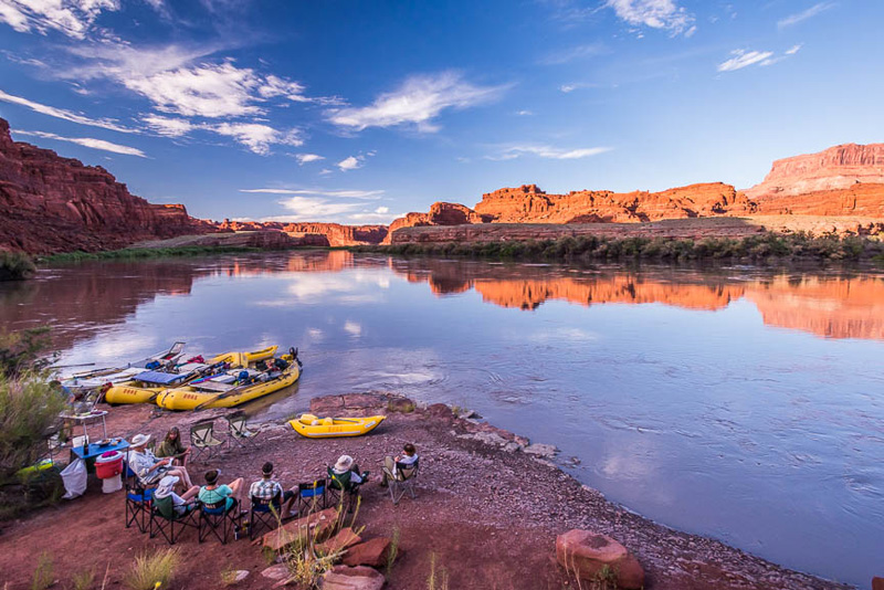Here's the thing: fall is prime time for rafting trips.