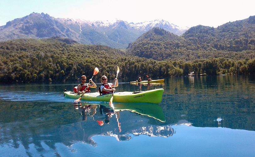 Kayaking in Northern Patagonia