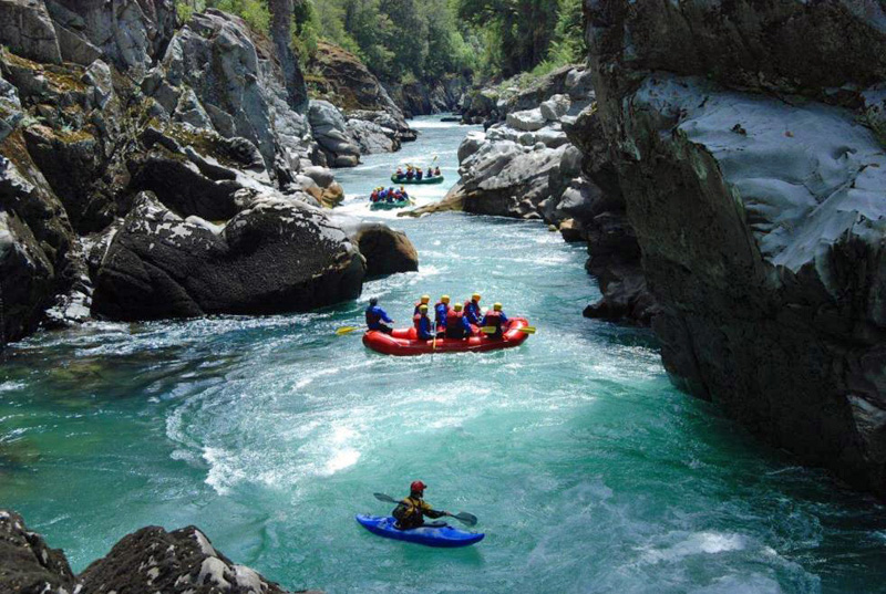 Rio Manso Rafting - Argentina