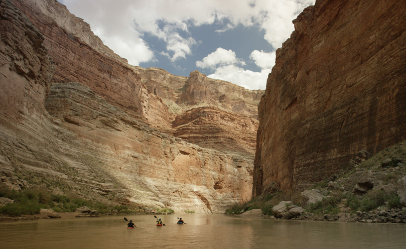 The Weight of Water follows blind kayakers through Grand Canyon