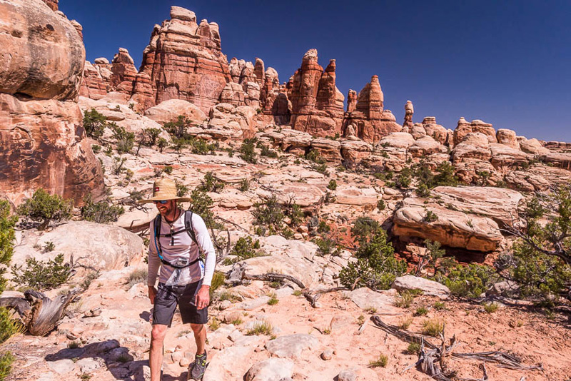 Hiking in Canyonlands National Park