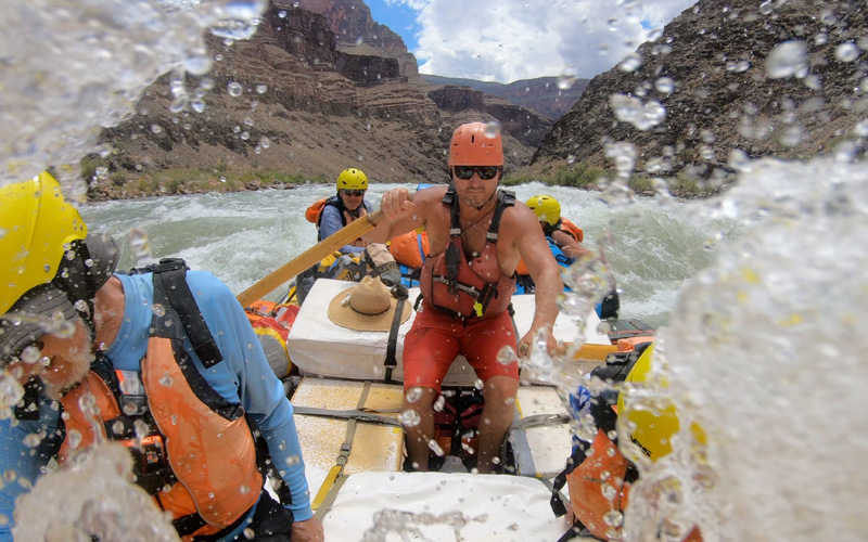 Grand Canyon Rafting Guide Jimmy Fulmer