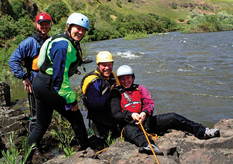 River guide training