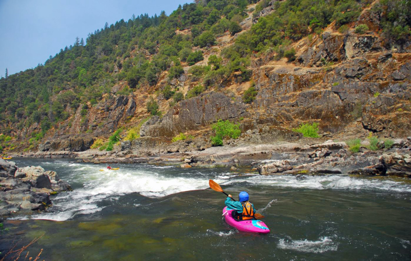 Grave Creek Falls Rapid on the Rogue | Photo: American Whitewater