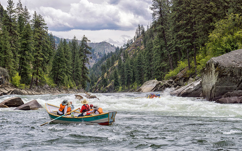 "Rafting the Main Salmon River in the Frank Church ""River of No Return"" Wilderness"