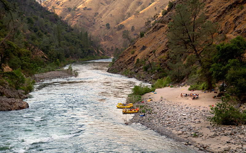 Rafting on California's public lands