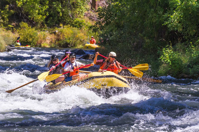 Rafting on the Wild and Scenic Rogue River in Oregon