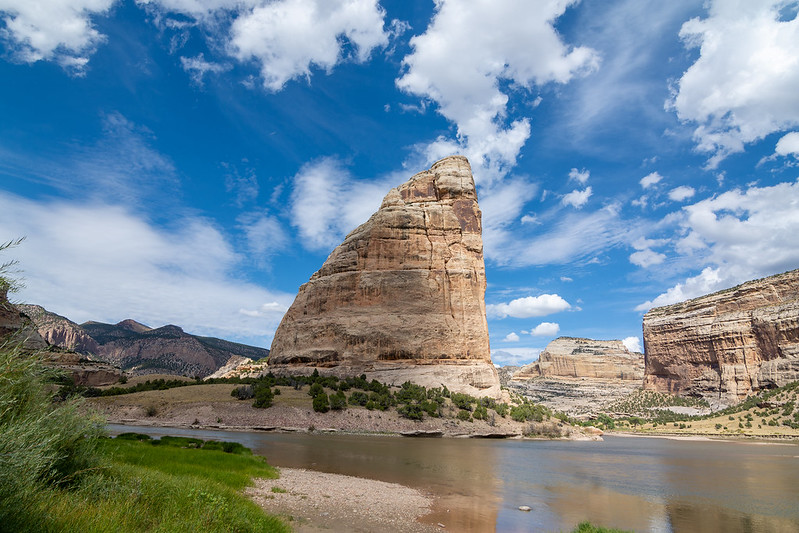 Echo Park in Dinosaur National Monument