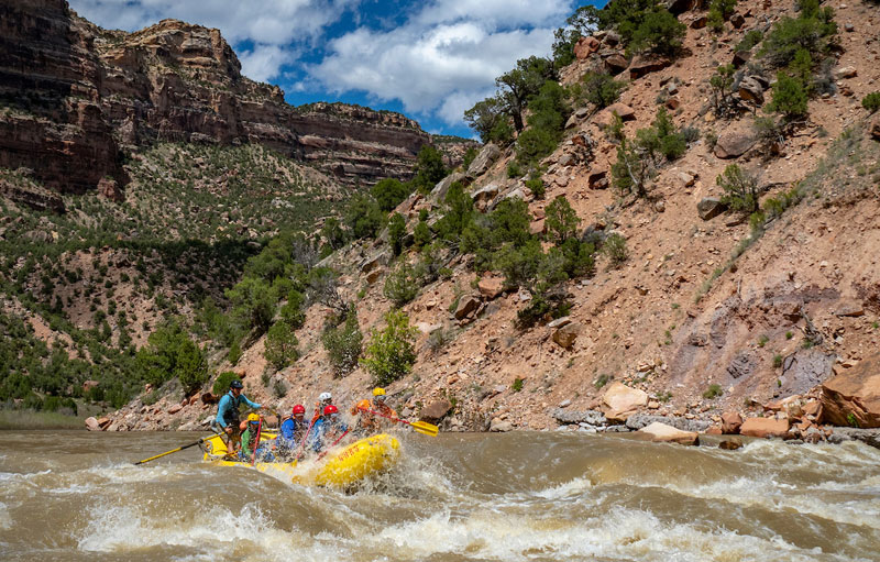 Yampa River rafting trip with OARS