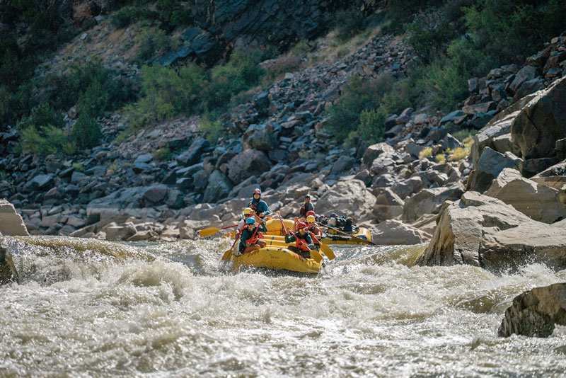 Westwater Canyon Rafting in Utah