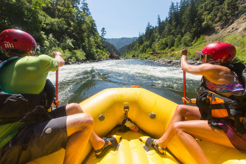 How to take care of your feet on river trips
