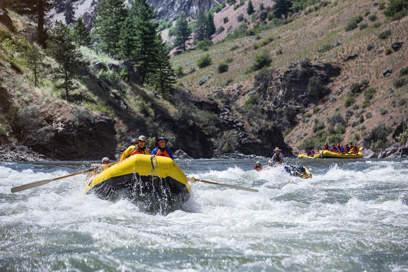 Idaho whitewater rafting: Middle Fork of the Salmon River