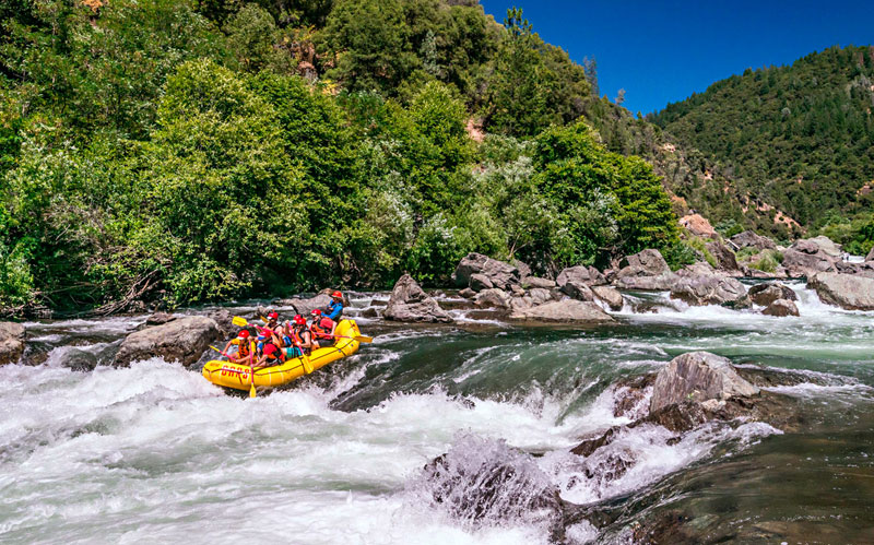 California Gold Country adventure: Whitewater rafting on the Middle Fork American River