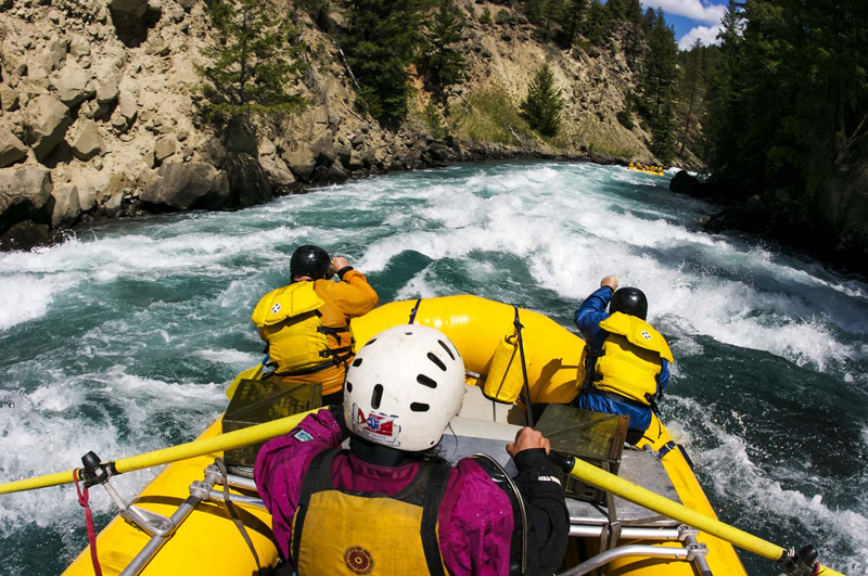 British Columbia Rafting: Chilko River