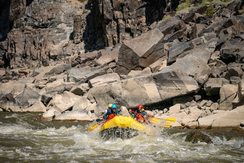 Colorado River rafting through Westwater Canyon
