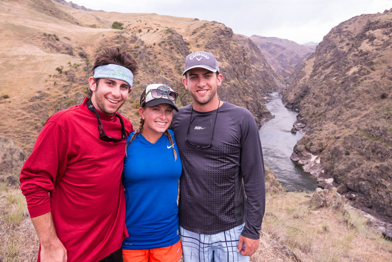 Hiking on Idaho's Lower Salmon River