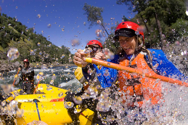 How to dress for spring rafting trips
