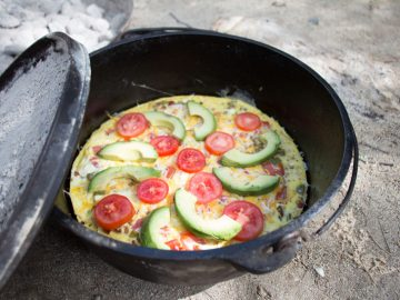 How to Make Delicious Dutch Oven Veggie Frittata